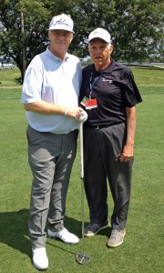 Champion Mark Wiebe and Inventor Dr. Lanny Johnson